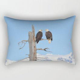 Perched With A View Duo Rectangular Pillow