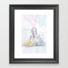 Princess 100 Framed Art Print