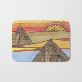 Desert Sunrise Bath Mat