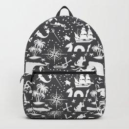High Seas Adventure // Charcoal Backpack