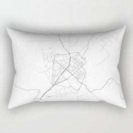 Minimal City Maps - Map Of Shkoder, Albania. Rectangular Pillow