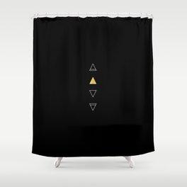 Four Elements Shower Curtain