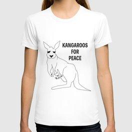 Kangaroos for Peace T-shirt