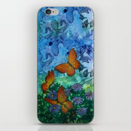 Monarch Haven iPhone Skin