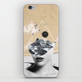 collage art / Wild Nature iPhone Skin
