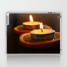 Orange Candles Laptop & iPad Skin