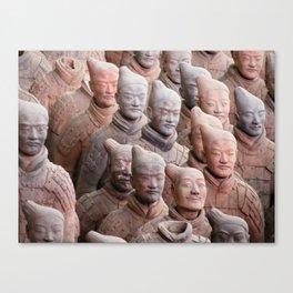 Xian Terracotta Warriors Canvas Print