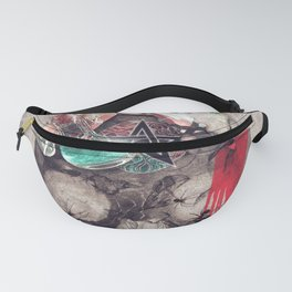Witchcraft skull Fanny Pack