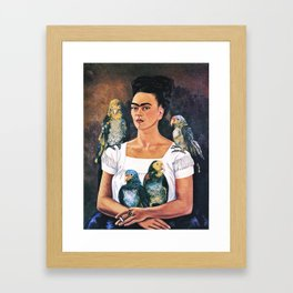 Frida Kahlo Birds Framed Art Print