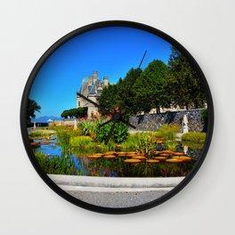 The Italian Garden at Biltmore Wall Clock