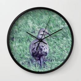 MOURNING DOVE NO. 1 Wall Clock