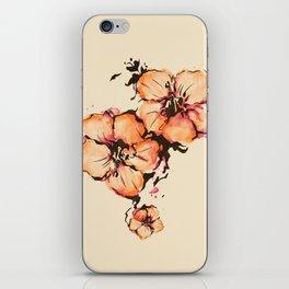gumamela iPhone Skin