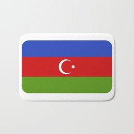 Azerbaijan flag Bath Mat