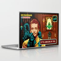 ghostbusters Laptop & iPad Skins featuring Ghostbusters - Ugly Little Spud by Jude Buffum