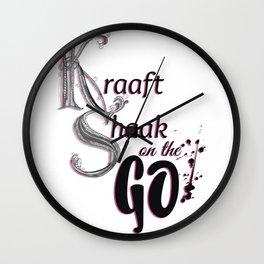 Kraaft Shaak on the GO! Wall Clock