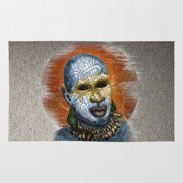 African Warrior Rug