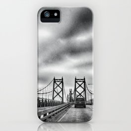 Interstate 74 Bridge - IL/IA iPhone Case