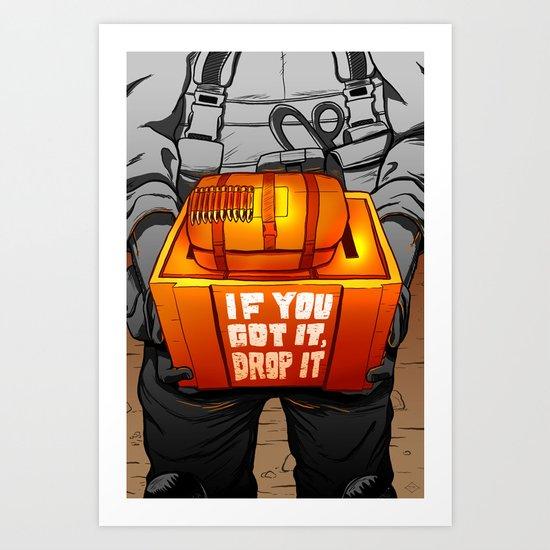 Drop It Art Print