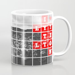 I Love Lyttelton Grid Coffee Mug