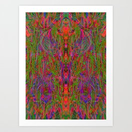Drenched In Juice Art Print
