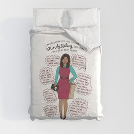 Mindy Kaling the Imaginary Best Friend Comforters