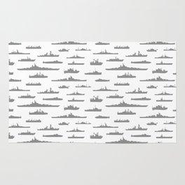 Battleship // Grey Rug