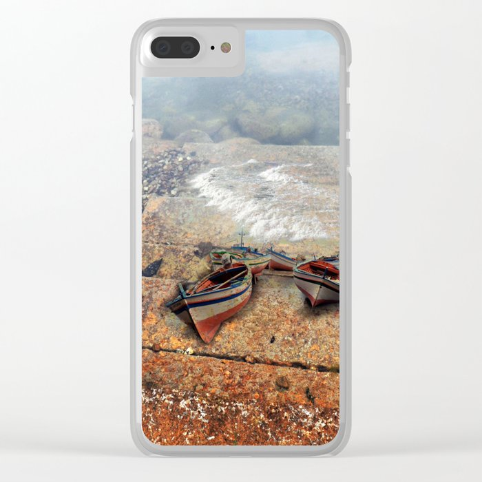 abstract ######### Clear iPhone Case