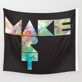 Make Art Wall Tapestry