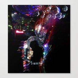 Disco Monster Canvas Print