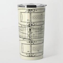 Pontoon Boat 01-1944 Travel Mug