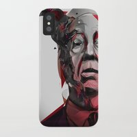 hitchcock iPhone & iPod Cases featuring Alfred Hitchcock by yoaz