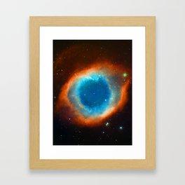 Eye Of God - Helix Nebula Framed Art Print