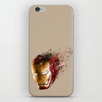 ironman iPhone & iPod Skins featuring Ironman by EnragedPeasant