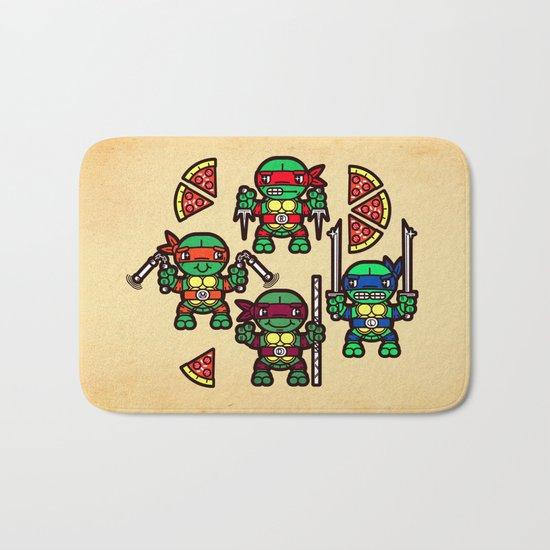Teenage Mutant Ninja Turtles Pizza Party Bath Mat