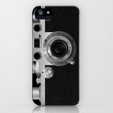 Classic Camera Illustration Slim Case iPhone SE
