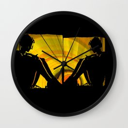 sun thoughts Wall Clock