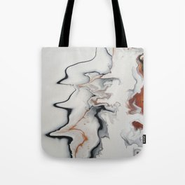 Unique Fluid Abstract Tote Bag