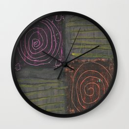 Coasters Wall Clock