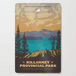 Killarney Park Poster Cutting Board