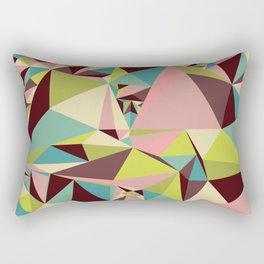 Triangle Pyramids Rectangular Pillow