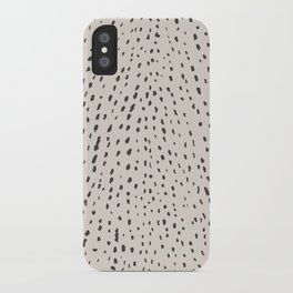 Silver Fawn  iPhone Case