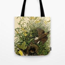 Meadow Lark (Sturnella magna) Tote Bag