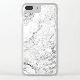 Severn Estuary Clear iPhone Case