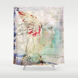 All My Tomorrows Begin Today Shower Curtain