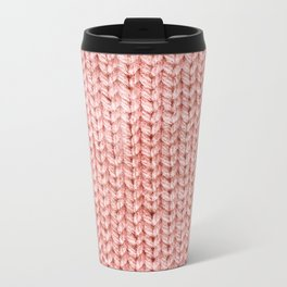Knit Metal Travel Mug