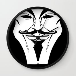 Disobey! Anonymous! Wall Clock