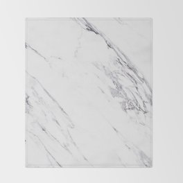 Marble - Classic Real Marble Throw Blanket