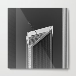 Between Skycrapers Metal Print