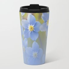Forget-me-not flowers - summer beauty Metal Travel Mug