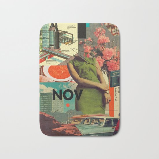 NOVember Bath Mat